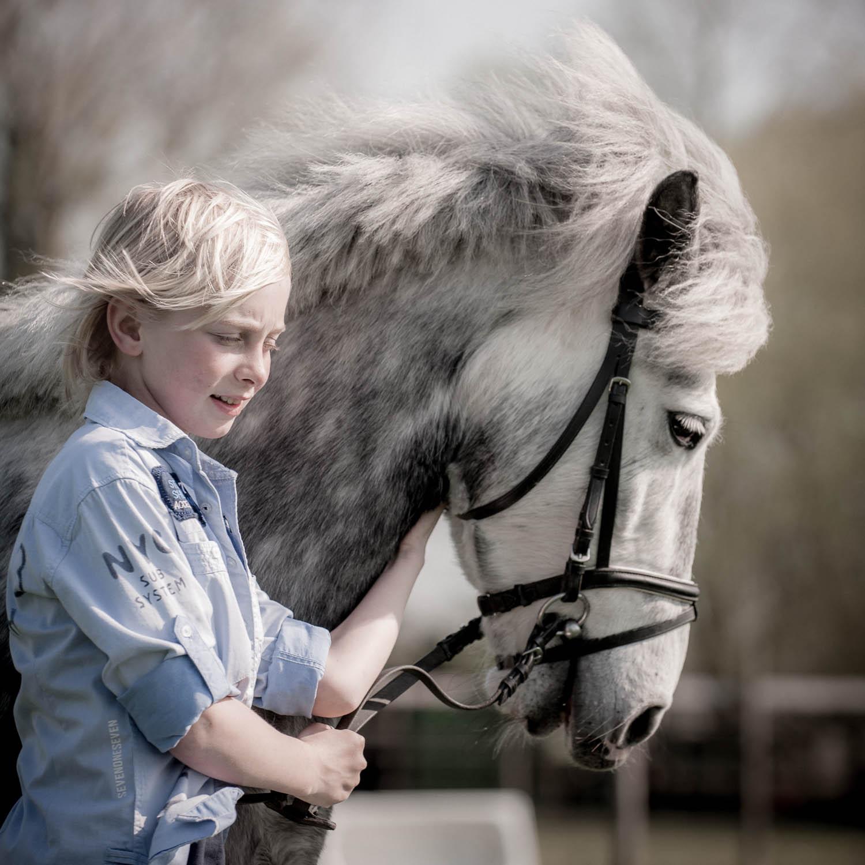 vormsel fotografie met paard