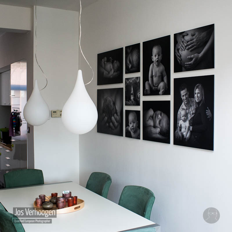 Fotopresentatie op formaat